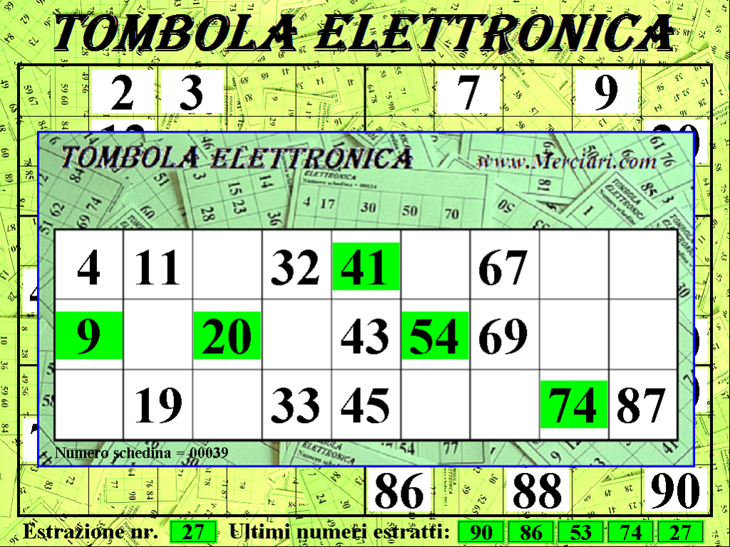 tombola elettronica